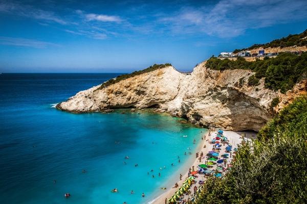 Grécko a ostrov Lefkada