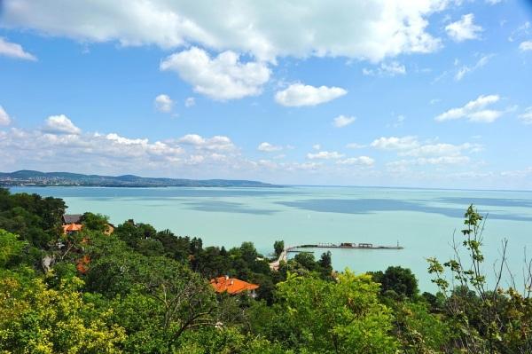 Balaton jazero Maďarsko