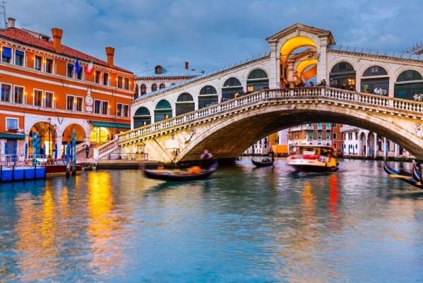 Benátky a most