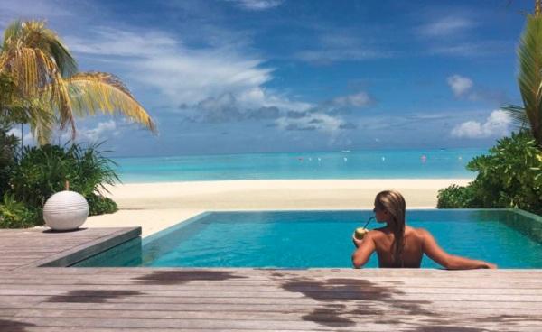 Cibulková Maldivy