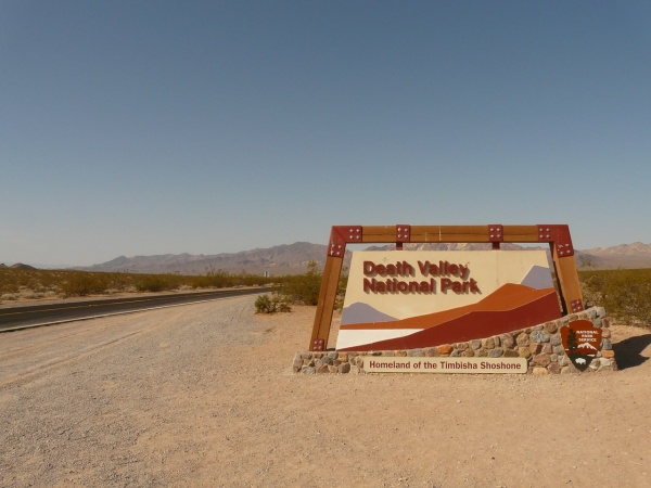Death Valley, údolie smrti