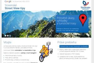 Google Street view a slovenské tipy