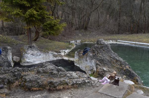 Kaďa, prírodné kúpanie v Liptovskom Jáne