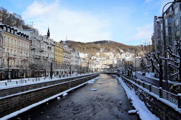 Karlovy vary kúpele zima