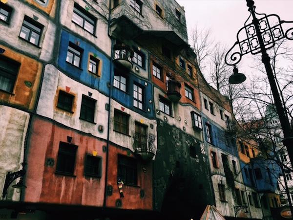 Najfarebnejší dom vo Viedni