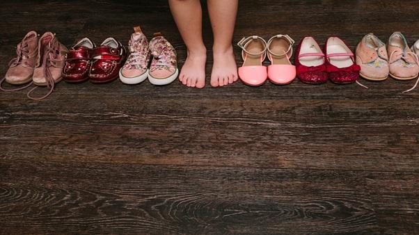 Dovolenka, zbalenie obuv
