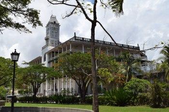 Palác zázrakov na Zanzibare