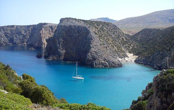 Sardínia pobrežie