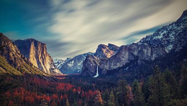 Kalifornia a yosemitský národný park