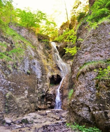 Hlbocký vodopád, Súľovské skaly, autor Veronika