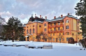Bardejovské kúpele v zime