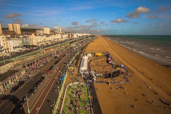 Brighton pláže