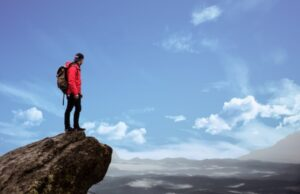Cestovateľ ide na hory, Pexels foto