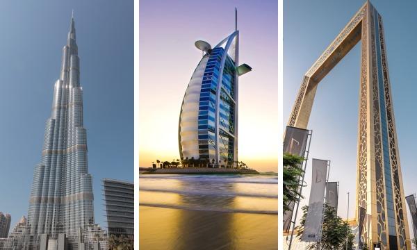 Dubaj a ikonické stavby