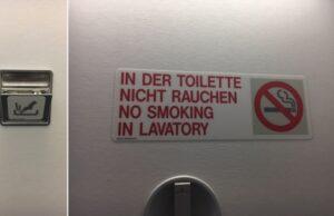 Fajčenie v lietadle