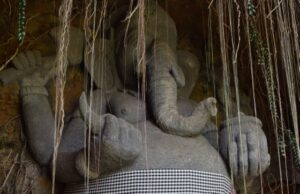 Ganesha socha, Bali