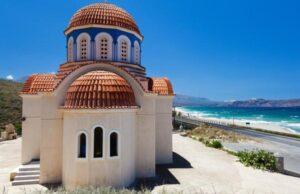 Grécko a kostolík