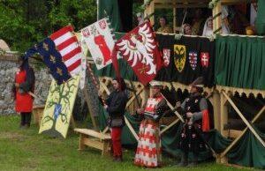 Historický festival na Červenom Kameni
