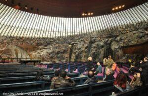 Kamenný kostol vo Fínsku
