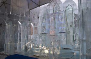 ľadové sochy na Hrebienku