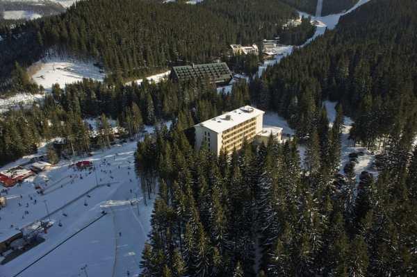 Lyžovačka hotel Sorea sneh