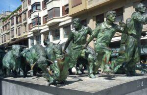 Pamplona býčie preteky