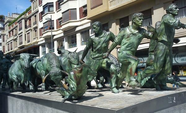 Býčie preteky v Pamplone