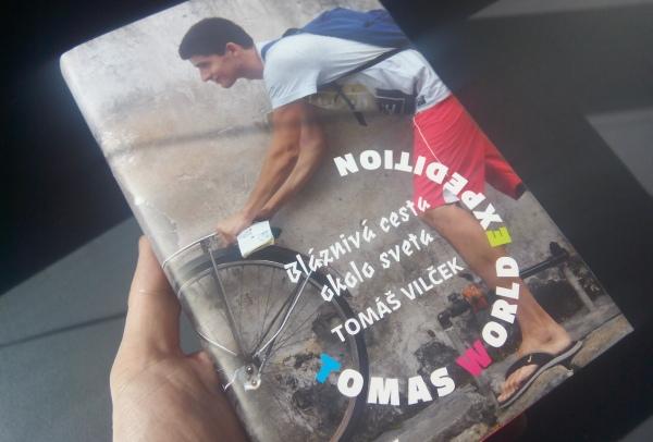 Tomáš Vilček a kniha Tomas World Expedition
