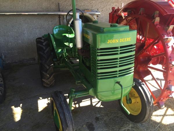Traktor v Krajinke