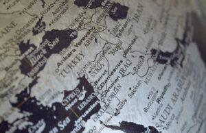 Turecko - mapa