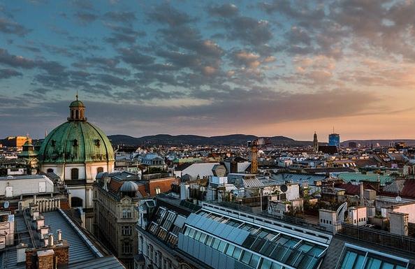 Viedeň a kostol Sv. Petra