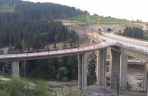 Výstavba diaľnice